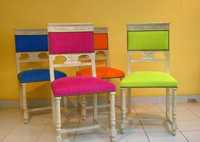chaises style