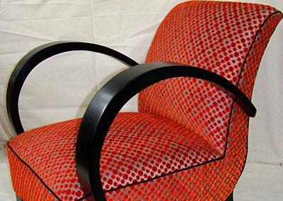 fauteuil ancien crest