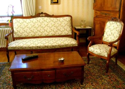 fauteuil et canapé crest